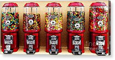 Gumball 5 . Digital Interpretation Acrylic Print by Wingsdomain Art and Photography
