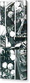 Gumballs Acrylic Print by Cory Calantropio