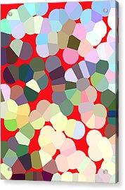 Gumbo Acrylic Print by Diana Gonzalez