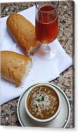 Gumbo Lunch Acrylic Print by KG Thienemann