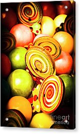 Gumdrops And Candy Pops  Acrylic Print by Jorgo Photography - Wall Art Gallery