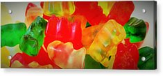 Gummies Acrylic Print by Martin Cline