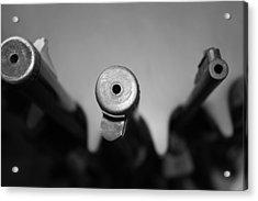 Gun Barrels Acrylic Print