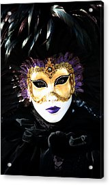 Gunilla Maria's Portrait 2 Acrylic Print by Donna Corless