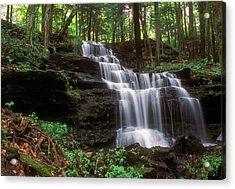 Gunn Brook Falls Sunderland Acrylic Print