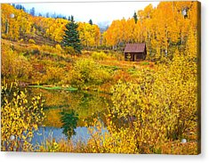 Gunnison Reflection  Acrylic Print