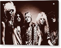 Guns N' Roses - Band Portrait 02 Acrylic Print