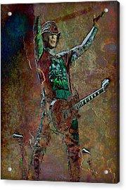 Guns N' Roses Lead Guitarist Dj Ashba Acrylic Print by Loriental Photography