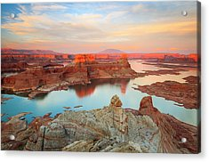 Gunsite Mesa Acrylic Print