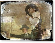 Gunslinger II Doc Holliday Acrylic Print