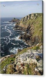 Gurnards Head In Cornwall Acrylic Print