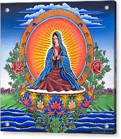 Guru Guadalupe Acrylic Print