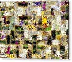 Gustav's Quilt Acrylic Print by RC DeWinter