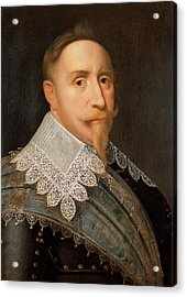 Gustavus Adolphus Of Sweden Acrylic Print by War Is Hell Store