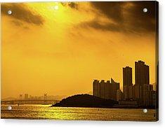 Gwangandaegyo Bridge, Korea Acrylic Print