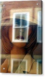 Gwendoline Acrylic Print by Jez C Self