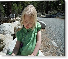Acrylic Print featuring the photograph Gwenyn by Dan Whittemore