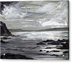 Gwithian Sands Acrylic Print
