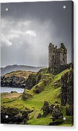 Gylen Castle On Kerrera In Scotland Acrylic Print