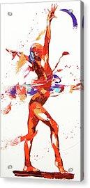 Gymnast Four Acrylic Print