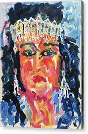 Gypsy Afternoon Acrylic Print by Khalid Alzayani