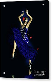 Gypsy Blue Acrylic Print