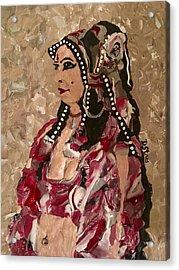 Gypsy Dancer Acrylic Print by Deborah Stanley