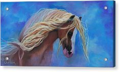 Gypsy In The Wind Acrylic Print