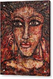 Gypsy Acrylic Print by Natalie Holland