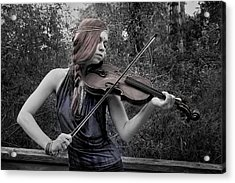 Gypsy Player II Acrylic Print