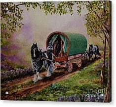 Gypsy Road Acrylic Print