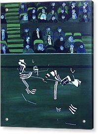 H W Acrylic Print by Ken Yackel