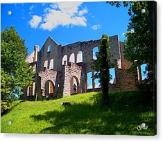 Ha Ha Tonka Castle Acrylic Print by Julie Grace