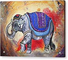 Haathi  Acrylic Print by Sydney Gregory