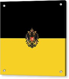 Habsburg Flag With Imperial Coat Of Arms 3 Acrylic Print