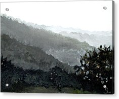 Hacienda Lamberti Acrylic Print by Sarah Lynch