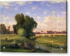 Hackensack Meadows - Sunset Acrylic Print