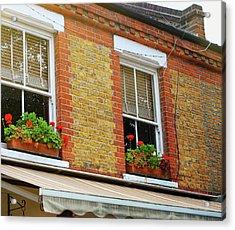 Hackney Row Acrylic Print by JAMART Photography