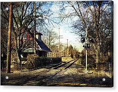 Haddon Heights Train Station Acrylic Print