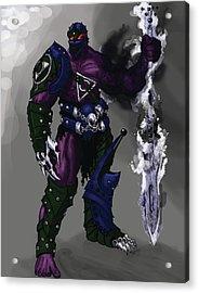 Hades God Of Underworld Acrylic Print