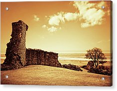 Acrylic Print featuring the photograph Hadleigh Castle by Joseph Westrupp