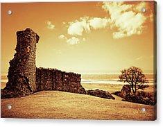 Hadleigh Castle Acrylic Print by Joseph Westrupp