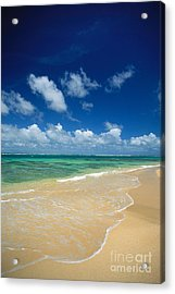 Haena Beach Acrylic Print by Greg Vaughn - Printscapes