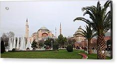 Hagia Sophia Acrylic Print by Niyazi Ugur Genca