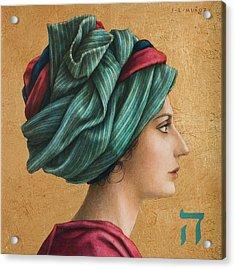 HAI Acrylic Print by Jose Luis Munoz Luque