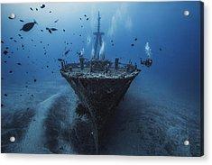 Hai Siang Wreck Acrylic Print by Barathieu Gabriel