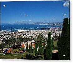 Haifa Bay 2 Acrylic Print