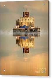 Haile Sand Fort Acrylic Print by Nick Wardekker