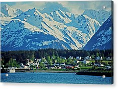 Haines - Alaska Acrylic Print by Juergen Weiss