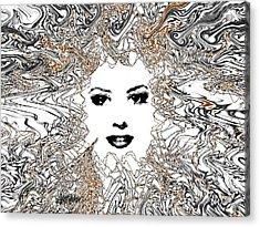 Hair Thair And Everywhair Mara Acrylic Print